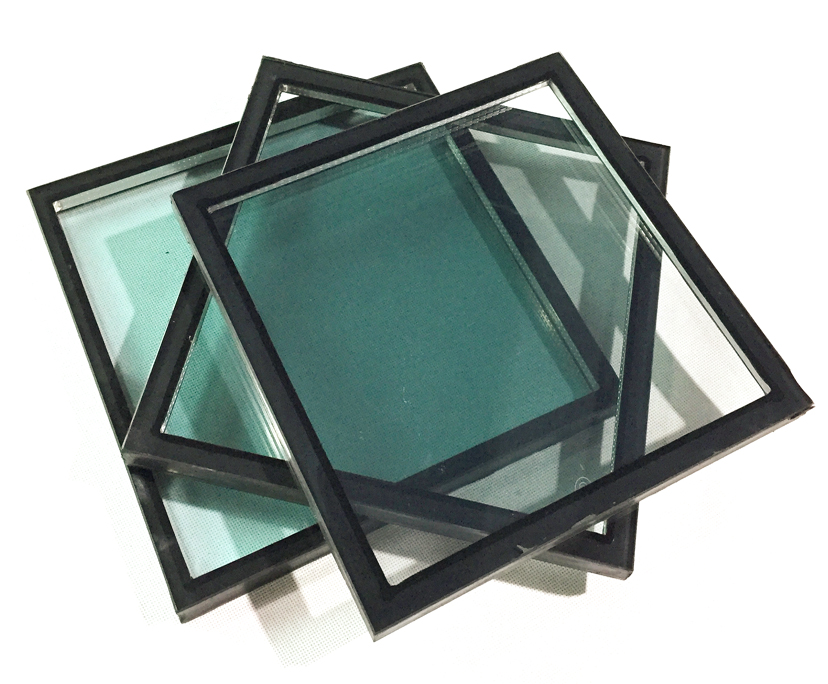 10mm+12A+10mm light green tempered insulated glass,32mm green double glazed glass