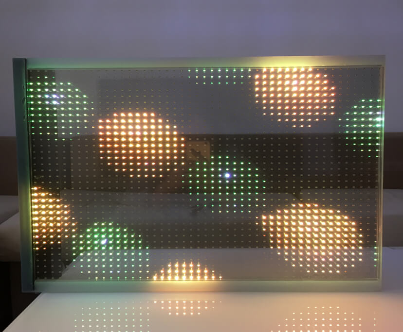 LED Display Glass Supplier for Facade