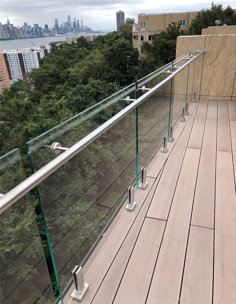 Top sales 10mm toughened tempered swimming pool fence glass china manufactures