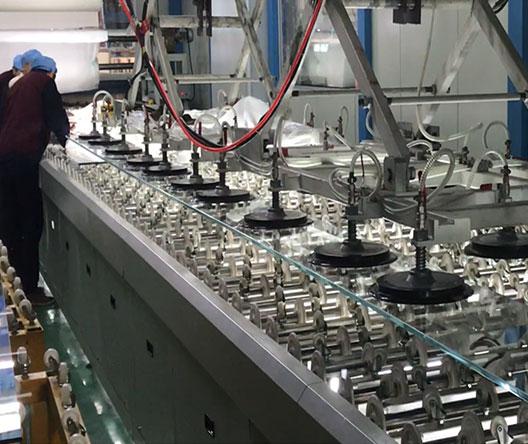 Jumbo Size Laminated Glass Line