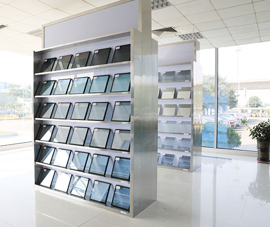 Insulated Glass Samples Showing Room