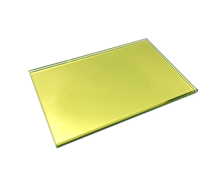 6mm golden reflective glass,6mm gold coating reflective glass