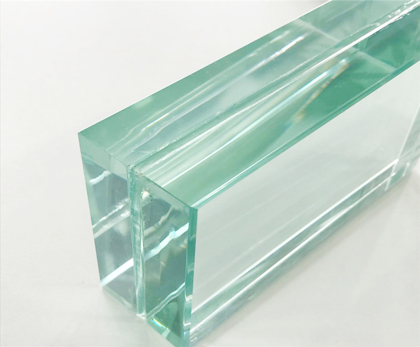 3/7 inch clear tempered laminated glass