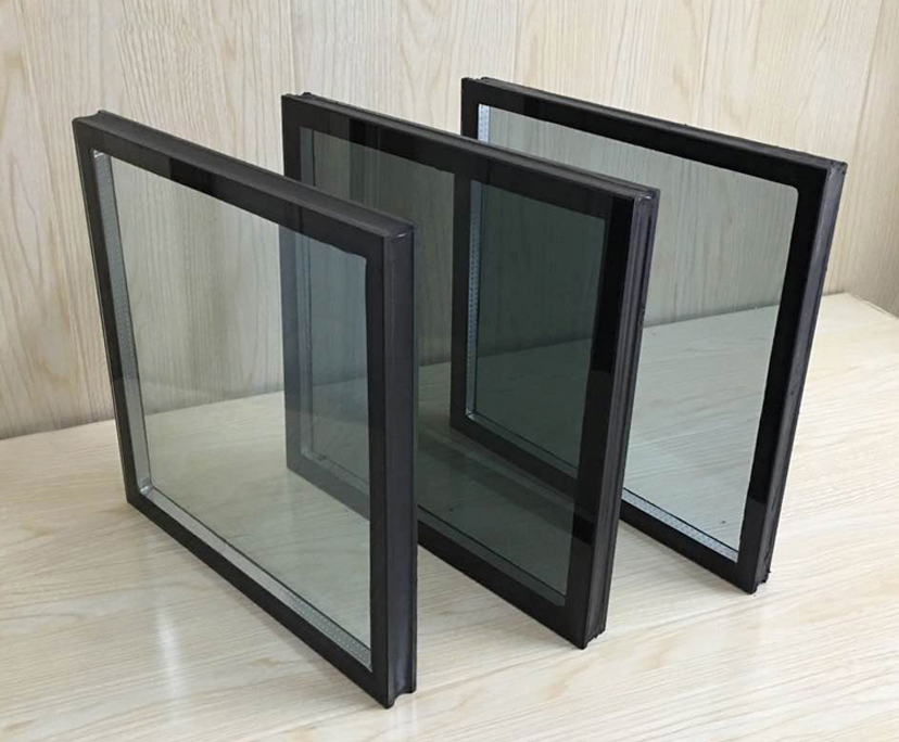 6mm clear+12A+6mm low-E tempered insulated glass