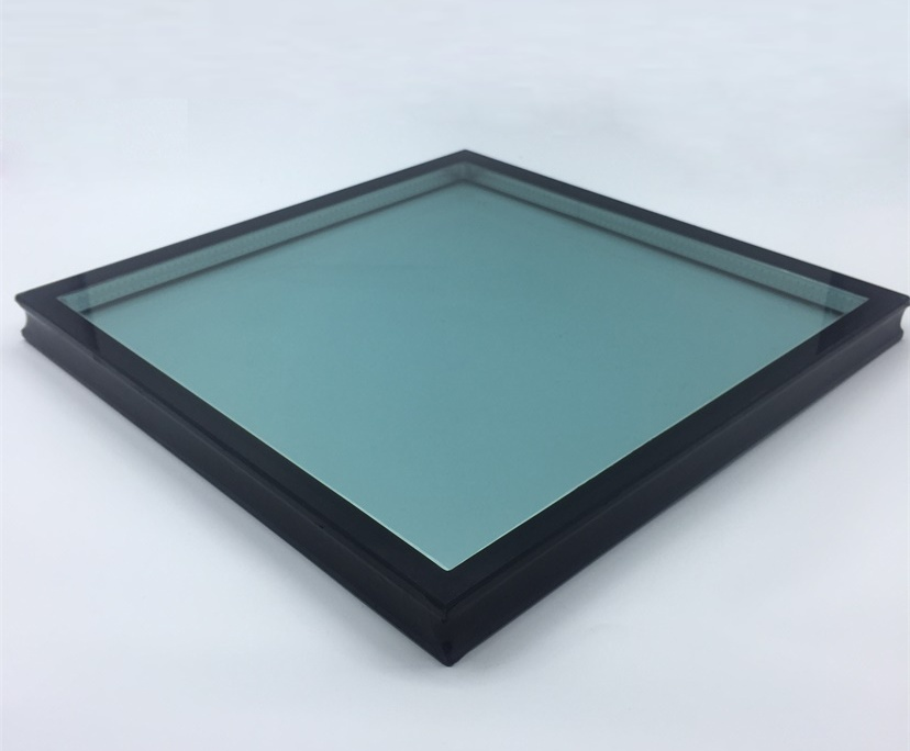 6mm clear+9A+6mm tempered reflective insulated glass, 21mm tempered reflective IGU factory