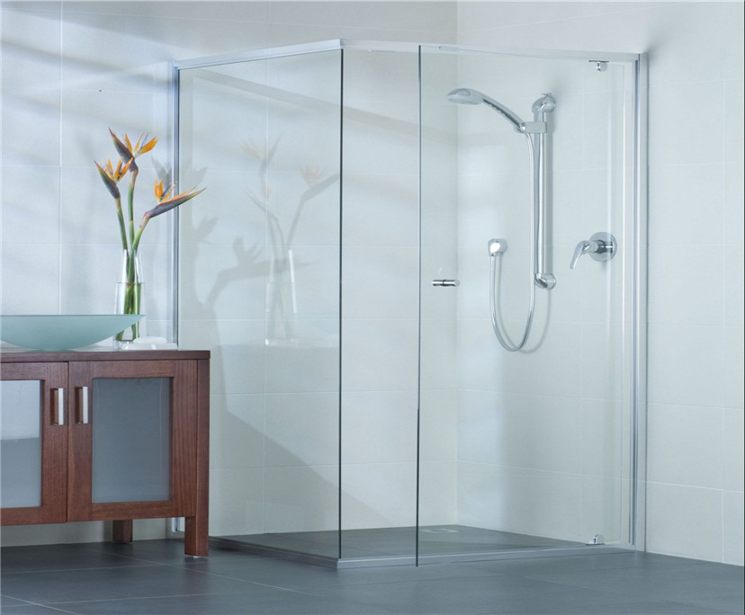 12mm super clear tempered shower glass