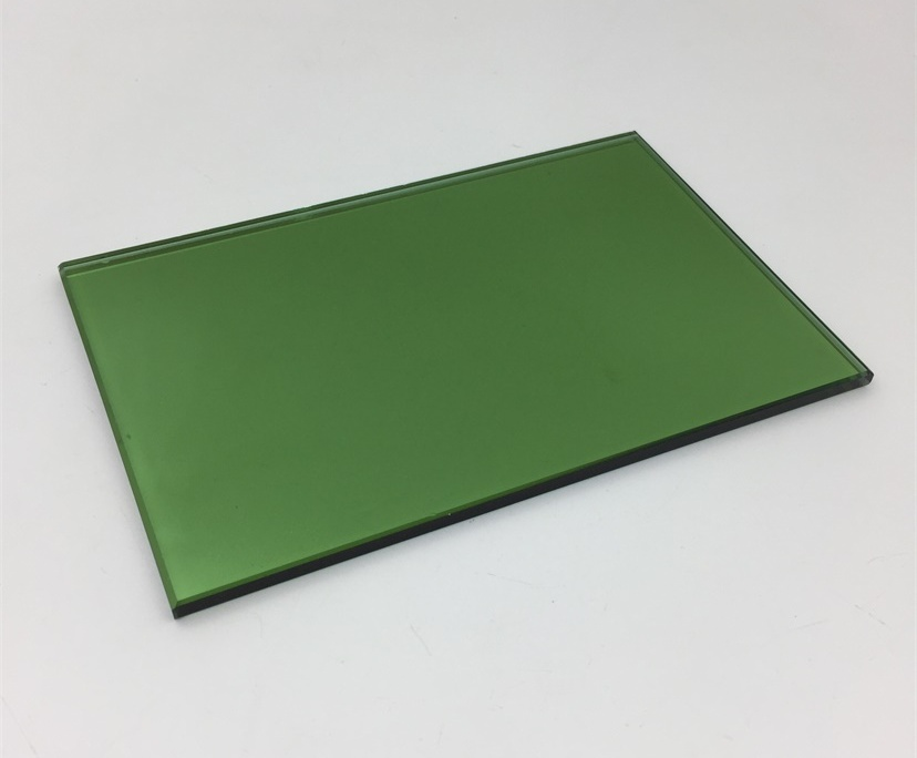 BTG 6mm green tempered reflective glass