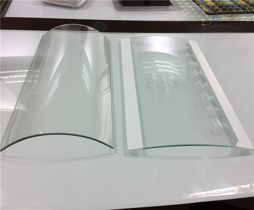 BTG Wholesale Factory Panels Sheet Tempered Curved Glass Manufacture Price
