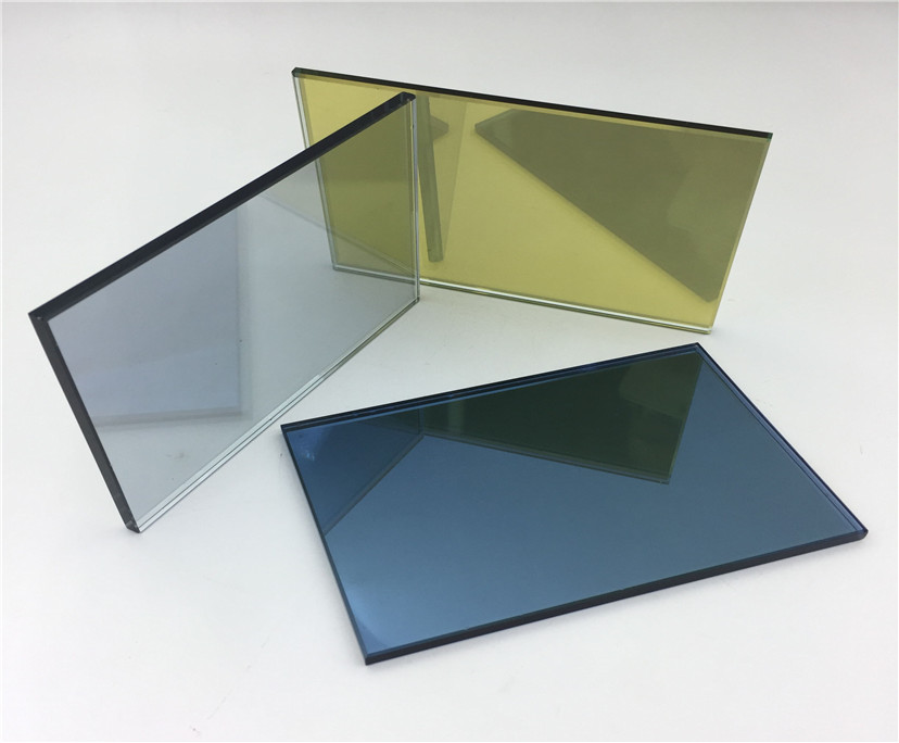 BTG better glass 12mm light blue tempered reflective glass china supplier