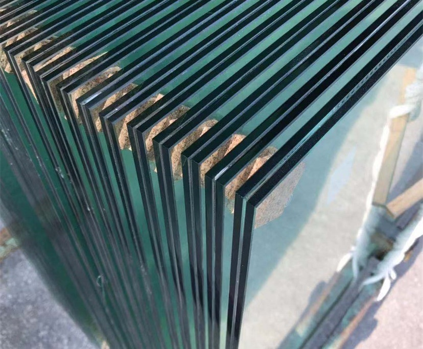 BTG 5mm+1.52PVB+5mm clear tempered laminated glass