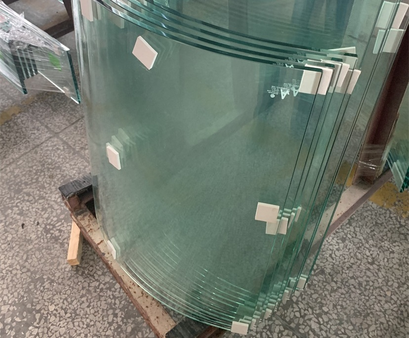 BTG 8mm 10mm curved tempered glass factory