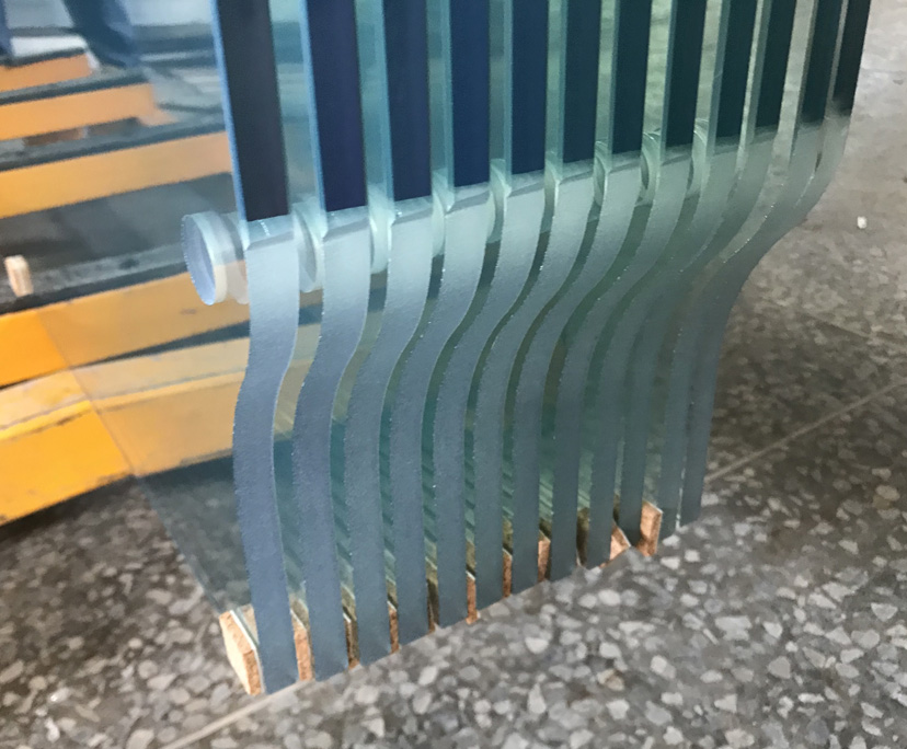 10mm 12mm colored toughened glass for door