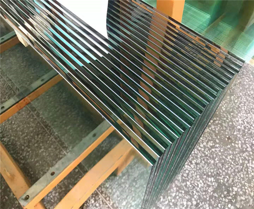 Interior decoration 10mm clear tempered glass china manufacturer