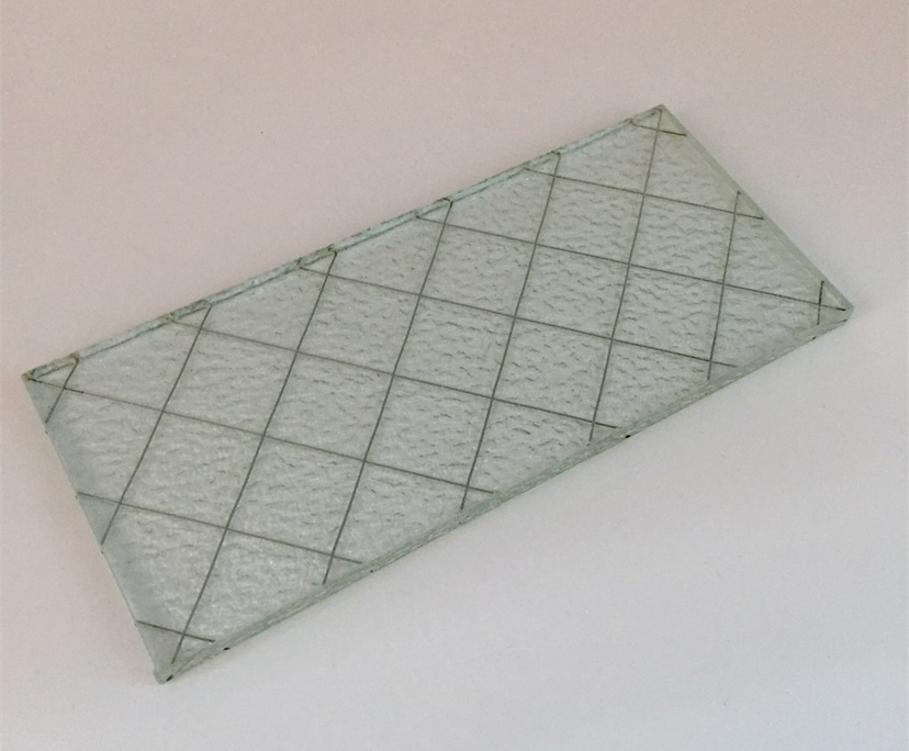BTG 6mm clear tempered wired glass for windows