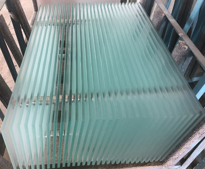 China factory BTG 10mm tempered table tops glass