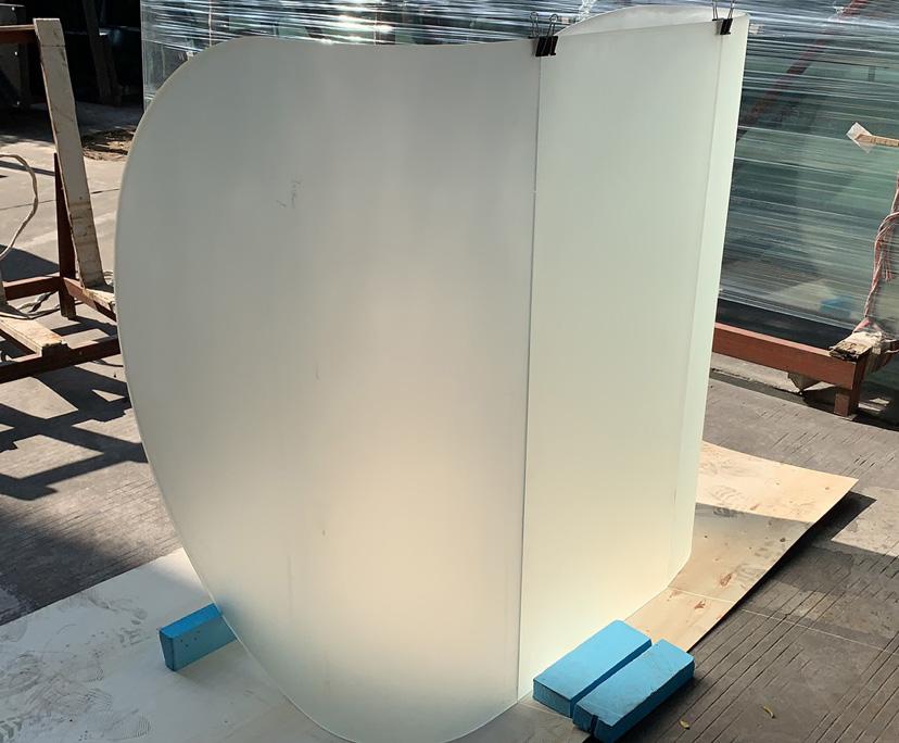 BTG customized 6mm 8mm hot bending glass manufacturer