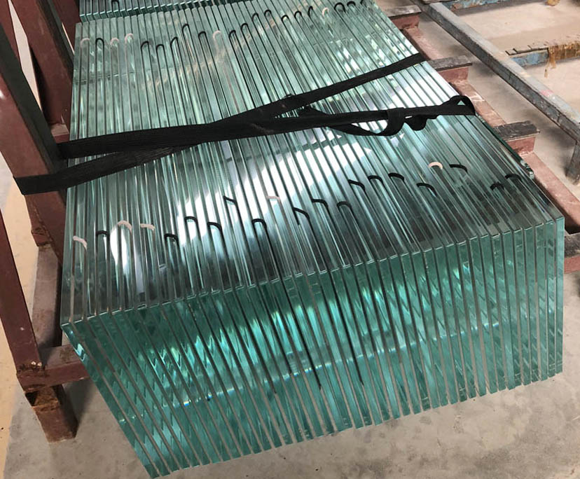 China supplier BTG 10mm toughened table tops glass