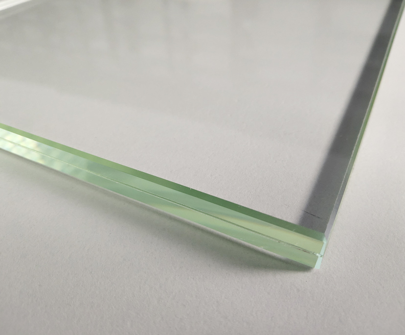 BTG 10mm transparent strengthened anti-reflective glass