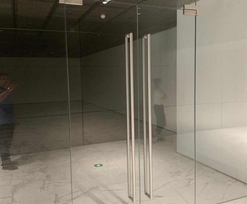 BTG 12mm colored strengthened glass for door
