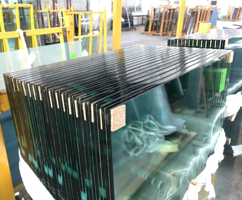BTG 13.14mm double panel tempered laminated glass windows