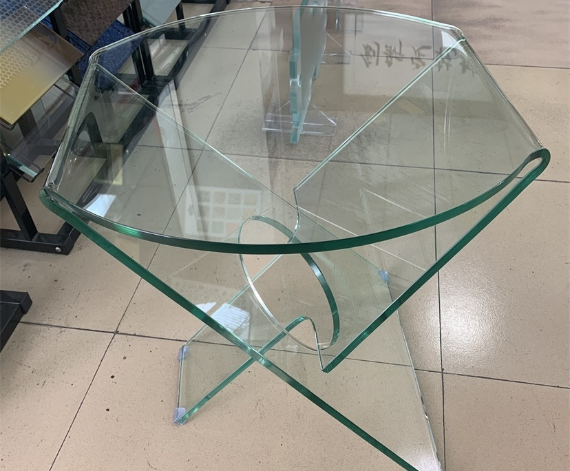 BTG 8mm pure glass table factory