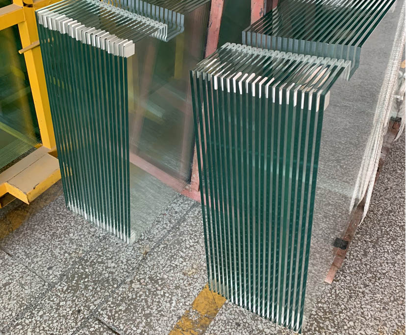 10mm BTG factory clear strengthened shower glass