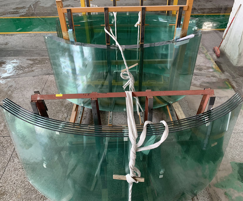 Factory supplier 10mm curved strengthened glass, 10mm curved tempered glass, 10mm curved toughened glass