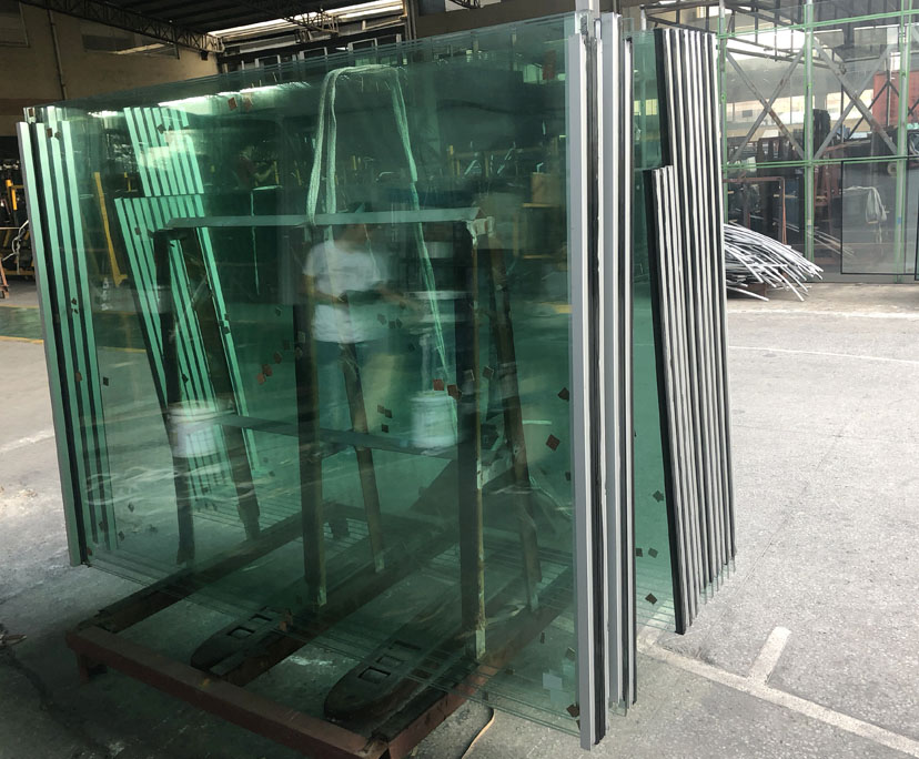 Factory supplier 6mm+12A+6mm strengthened insulated glass