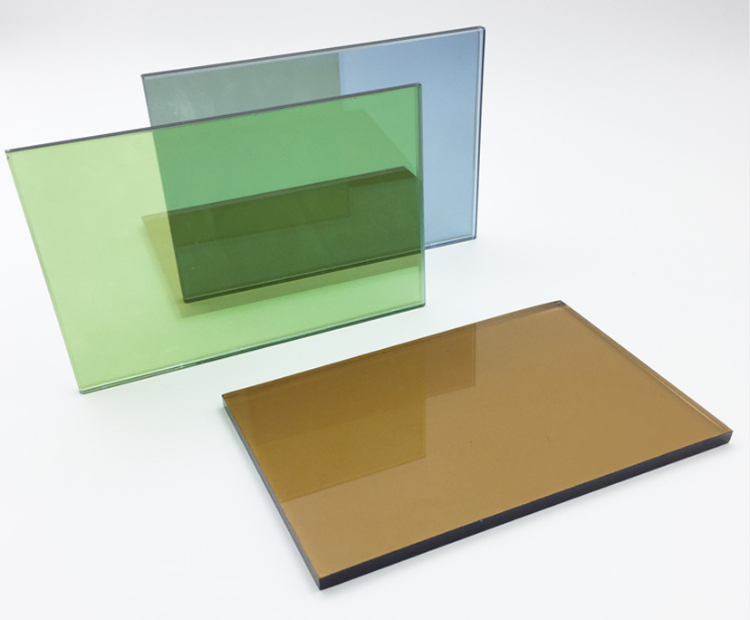 BTG 6mm anti glare toughened low e glass