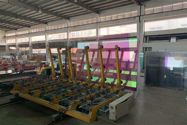 BTG 8mm 10mm 12mm tempered Dichroic glass China manufacturer