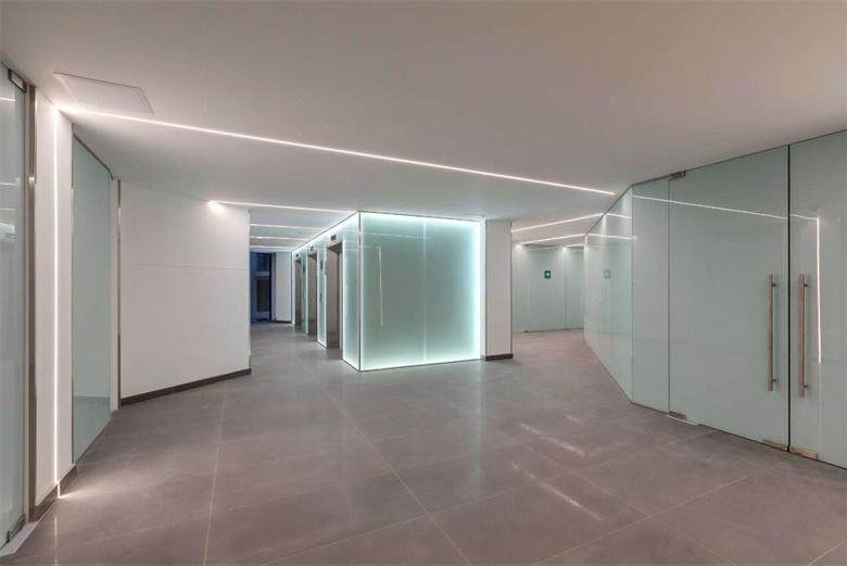 BTG partition glass project