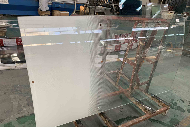 BTG glass company 12mm clear gradient silk screen printing curved tempered laminated glass manufacturer