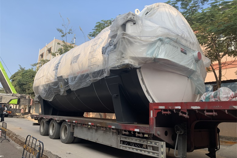 New autoclave arrived in our factory today
