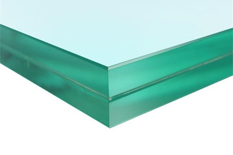 Application of laminated glass